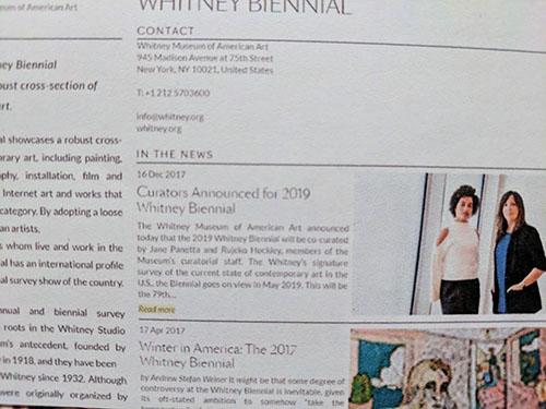 Whitney Biennial 15